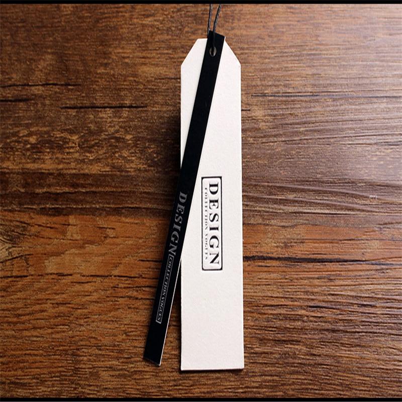 custom-made 700G kraft paper Tag clothing tag /1000G cotton card