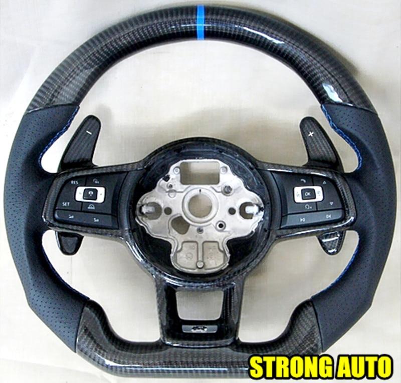 wholesale dsg 100 carbon fiber paddle steering wheel shift paddle extension carbon fiber vw. Black Bedroom Furniture Sets. Home Design Ideas