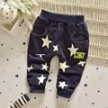 Бесплатная доставка новая весна и осень младенческой свободного покроя звезды брюки, Мальчиков тонкие брюки, Малыш свободного покроя брюки # Z1342