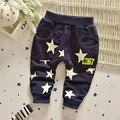 Frete grátis nova primavera e outono casuais estrelas calças, Meninos de calças, Criança calças casuais # Z1342