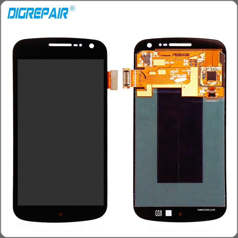 imágenes para Negro Para Samsung Galaxy Nexus i9250 Pantalla LCD Táctil Digitalizador Pantalla Completa Asamblea Reemplazos Envío Libre + Número de seguimiento