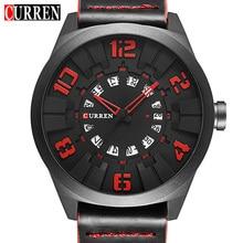 2017 New CURREN Watches Men Fashion Luxury Man Sport Clock Male Military Wristwatch Leather Quartz Watch Relogio Masculino 8258