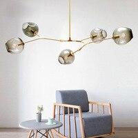 Designer Glass Pendant Lights Hang Pedant Lamps for bar Stair Dining Room Kitchen Living Room Pendant Lights