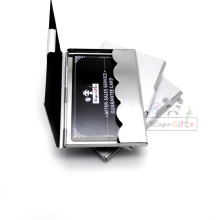 50PCS/lot cheap promotion stainless steel card boxes calling customized logo printing fine DIY gift free shipping