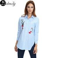Women S Loose Fit Stripe Cotton Blouse Shirts YC12346