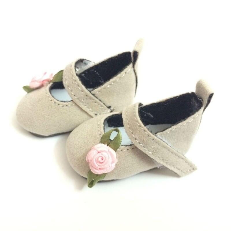 100 زوج / الوحدة أحذية BJD أحذية رياضية السببية مع 3D زهرة ، 1/6 BJD دمية الملحقات ، 4.6CM لعبة الأحذية أحذية الدمى للدمى