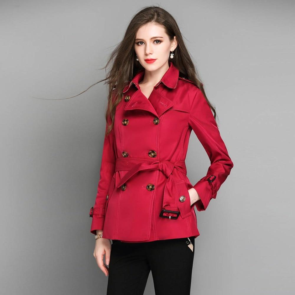 femmes veste manteaux vêtements élégant automne hiver british style