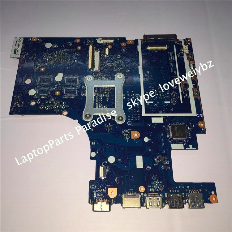 Free Shipping New For Lenovo G50 70 Notebook Motherboard ACLU1 ACLU2 NM A271 REV 1 0
