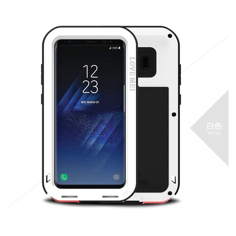 Funda de metal Love Mei para Samsung Galaxy S8 Plus Funda de - Accesorios y repuestos para celulares - foto 5