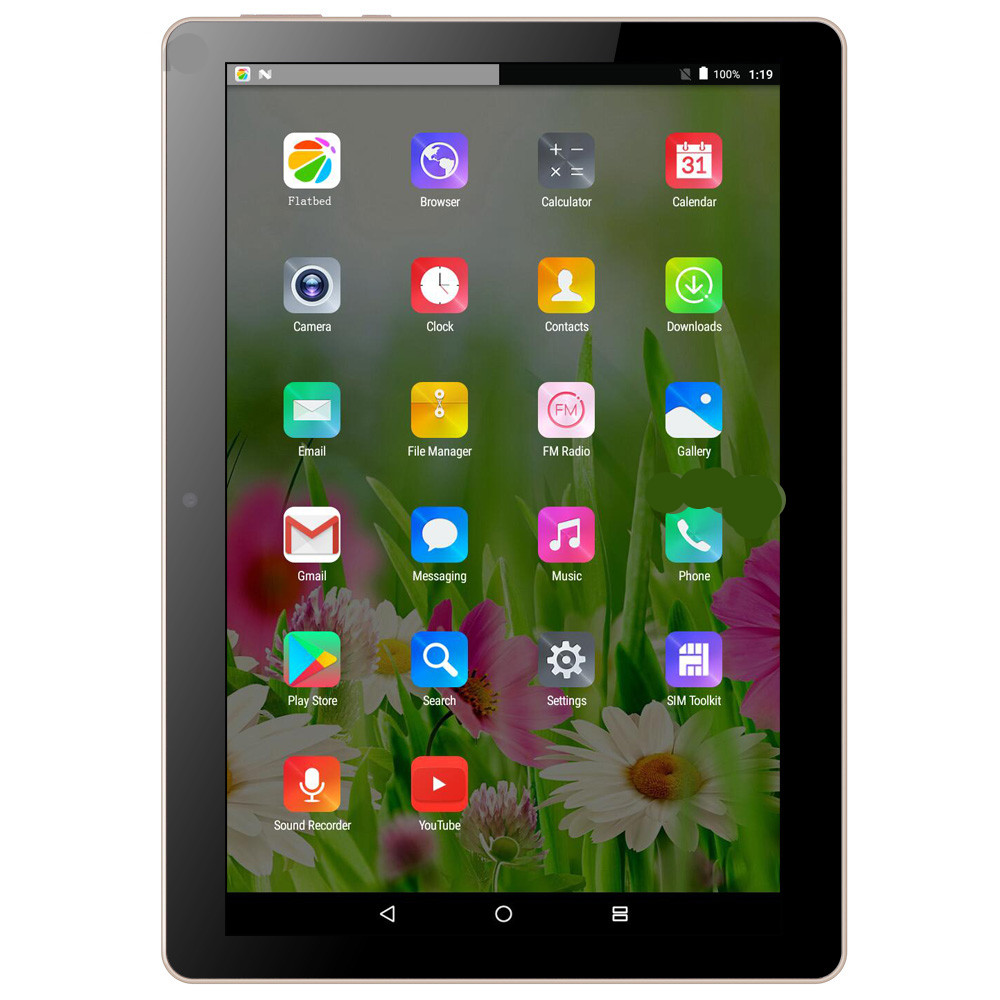 10 Inch Factory Price OEM Android 6.0 Tablets 3G Smart Call Tablet Pc M108 enlarge