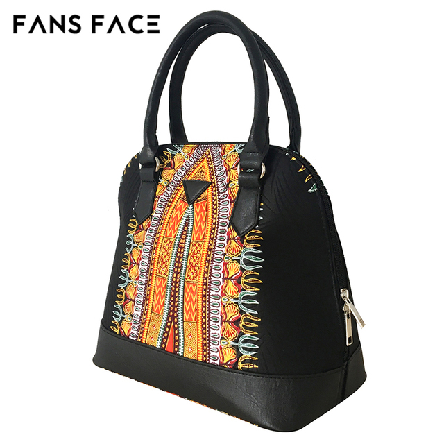 FANS FACE Luxury Handbags Women Bags Designer Traditional African Style High Quality African Fabric Dress Accessories 3