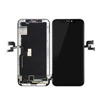 Горячая истина OEM КАЧЕСТВО OLED/TFT для iPhone X ЖК дисплей сенсорный экран дигитайзер сборка Новый 1:1 Оригинальная Замена + Бесплатные инструменты
