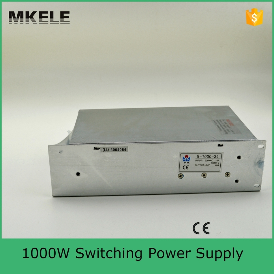 Input 220v To DC <font><b>24v</b></font> <font><b>40A</b></font> 1000W <font><b>Power</b></font> <font><b>Supply</b></font> S-1000-24 With CE Authentication image