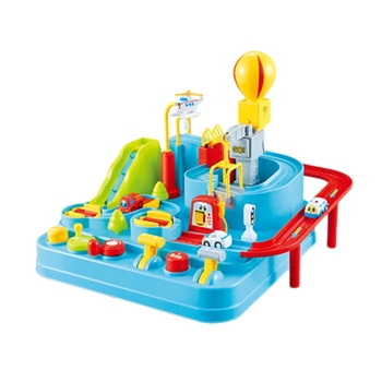Children'S Intelligence Toys Children'S Toys Rescue City Park Obstacle Course Driving Games Construction Vehicles Factory Gara