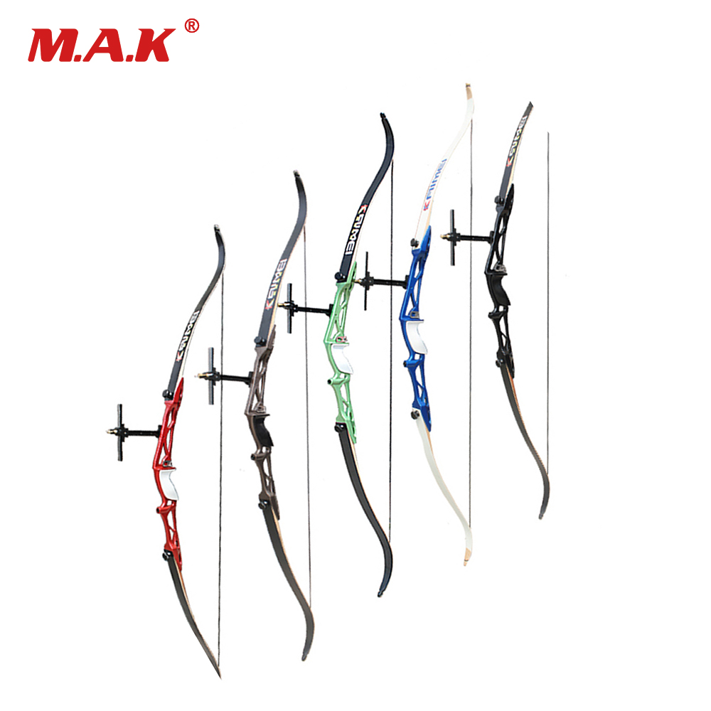 14-40LBS 12 Color 66/68/70 Inches Recurve Bow Right Hand with Sight and Rest for Outdoor Archery Huntting Shooting Games
