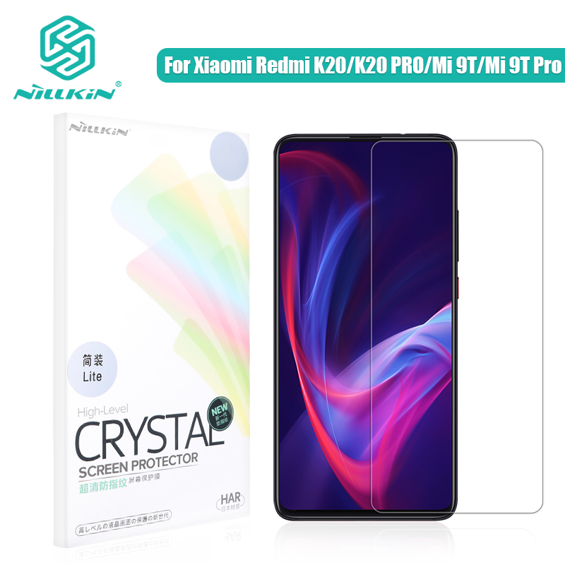 NILLKIN Redmi K30 Screen Protector POCO X2 HD Super Clear Screen Protector Matte Anti Glare For Xiaomi Mi 9t Mi 9t Pro Redmi K20