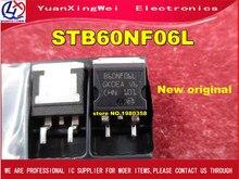 Livraison gratuite 10 pièces/lot STB60NF06L STB60NF06 B60NF06L B60NF06 60NF06 TO 263 nouveau IC dorigine