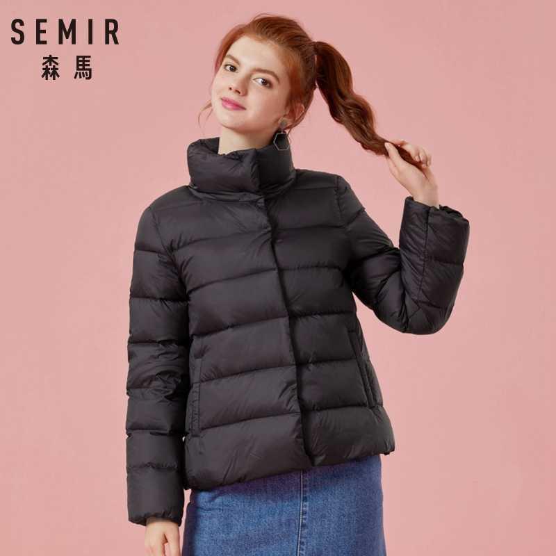 a9b35fce8 SEMIR 2018 Winter Jacket Women Cotton Short Jackets New Down Padded ...