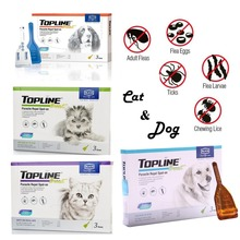 Alkin Topline Boost For Dogs & Cats Flea and Tick Biting Lice Treatment
