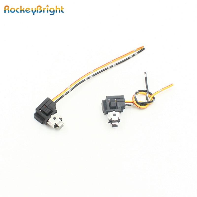 10 50pc h1 power plug adapter connectors h1 halogen bulb