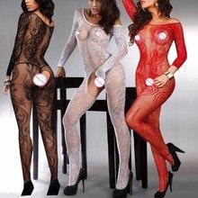 Women Sexy Lingerie Lenceria Babydoll Erotic Underwear Intimates Plus Size Open Crotch Fis