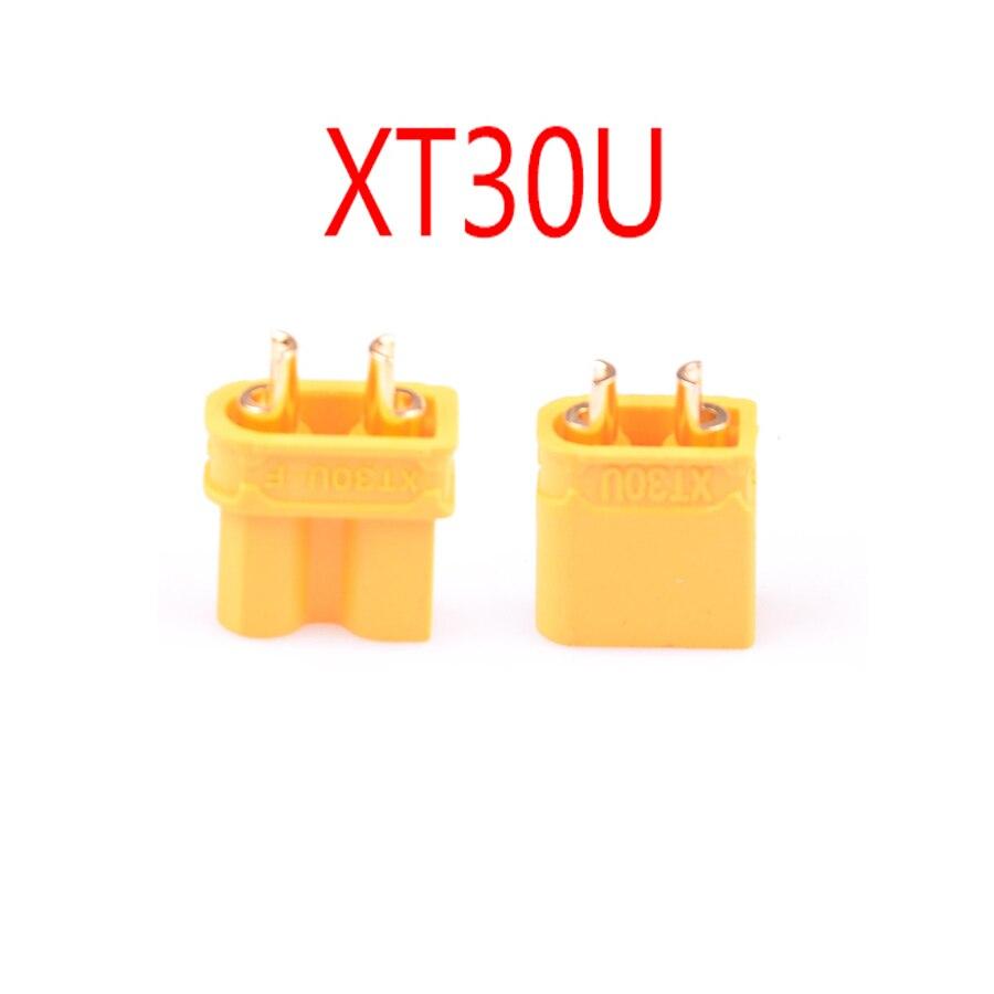 10 пар Amass XT30 XT60 XT90 XT-30 XT-60H мужской женский пули Разъемы набор пробок Запчасти для RC Lipo батареи FPV Дрон - Цвет: XT30U 10 Pairs
