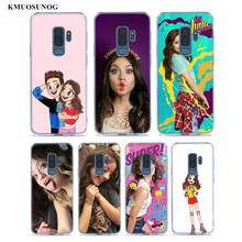Transparent Soft Silicone Phone Case soy luna frosted softness For Samsung Galaxy S9 S8 Plus S7 S6 S5 Edge Note 9 8 soy luna live barcelona