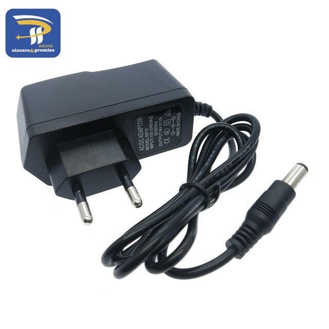Адаптер преобразователя переменного тока 100 240 В постоянного тока 9 в 1 А источник питания постоянного тока 5,5 мм x 2,1 мм для Arduino UNO R3 MEGA