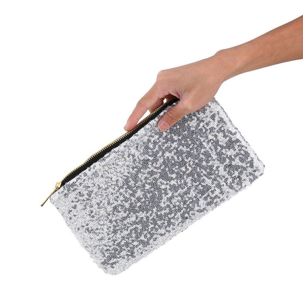 Fashion Women Clutch Dazzling Glitter Sparkling Sequins Evening Party Bag  Markup Bag 4b91745dc36a