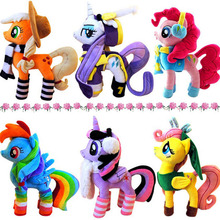 2016 New 40cm My Horse Plush Toys Anime&TV Peluche Phonology Moon Princess Baby Toy Brinquedos Kids toys Little Poni Dragon Gift