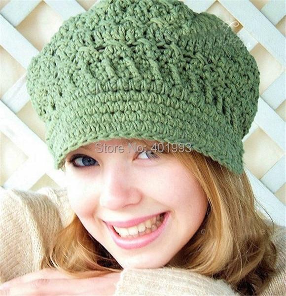 New Toddler Hat Spring Beanie Womens Newsboy Hat Crochet Adult Hats