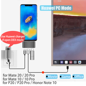 Image 4 - BFOLLOW 3 in 1 Dex Station for Samsung S8 S9 S10 Plus / Note 8 9 10 Pro Pad PD Adapter Type C to HDMI for Huawei