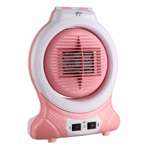 220V Warm Air Blower Electric Heater Mini Fan Heater Electric Warmer Table Lamp