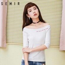 T-shirt sexy à demi-manchon pour femme 2 ...