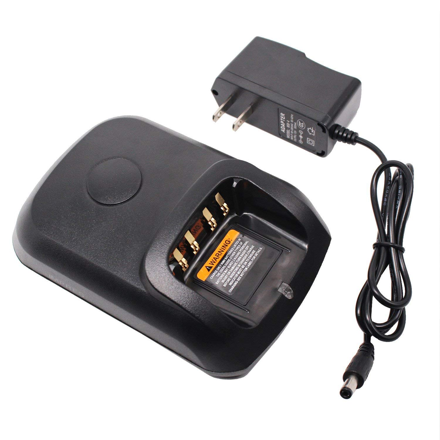 WPLN4226 Battery Charger for <font><b>Motorola</b></font> PMNN4077 PMNN4103 PMNN4409 DP4400 <font><b>DP4600</b></font> DP4801 DP3401 DP3600 DP2400 DGP6150 XPR6350 P8268 image