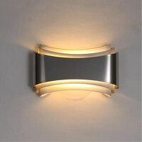 Led wandleuchte modernen minimalistischen schlafzimmer nachttischlampen kreative neue gang treppen gemütliche höhle wohnzimmer wandleuchte