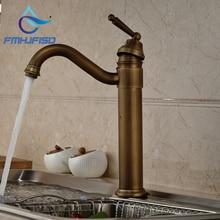Antique Bronze Swivel Spout Vessel Sink Mixer Tap font b Kitchen b font font b Faucet