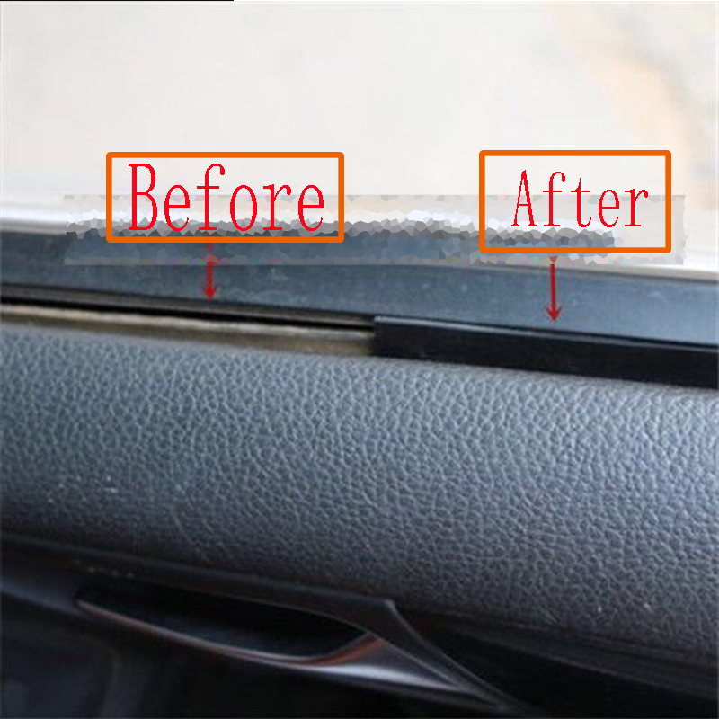 1M 1 Car Window Seam Gap Sealing Protection Strip For Volvo S60 XC90 V40 V70 V50 V60 S40 S80 XC60 XC70 Nissan Qashqai X TRAIL in Car Stickers from Automobiles Motorcycles