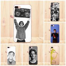 Maerknon Matthew Gray Gubler para Apple iPhone 4X4 4S 5 5C 5S SE 6 6 S 7 8 Plus carcasa blanda de TPU para teléfono