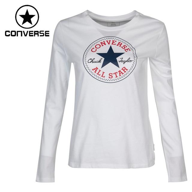 0e6f2d07a688 Original New Arrival 2017 Converse Women s T-shirts Long sleeve Sportswear