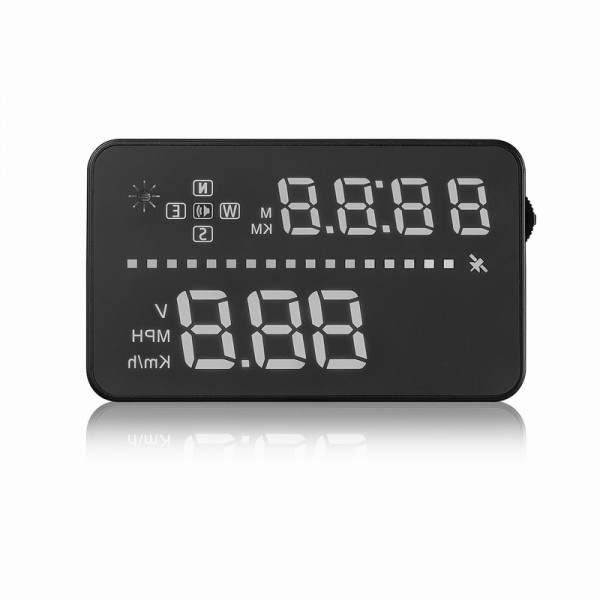 ФОТО 2016 New Product 3.5 Inch HUD A3 Head Up Display A3 Available for any car With GPS Head Up Display OBD2 OBDII