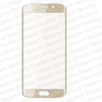 50PCS Original Front Outer Touch Screen Glass Lens Replacement for Samsung Galaxy S6 Edge G925 free DHL