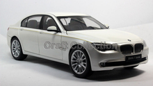 Kyosho 1/18 White 7 Series 760 750 760Li Active Hybird (F04) 2012 Diecast Model Car Classic Toys Luxury Vehicle