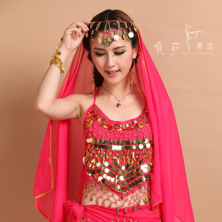 New Style Belly Shirt Dancing Bra For Women Sex Belly  Bra Indian Dance Bra Egypt Style Belly Bra 7 Colour 072105