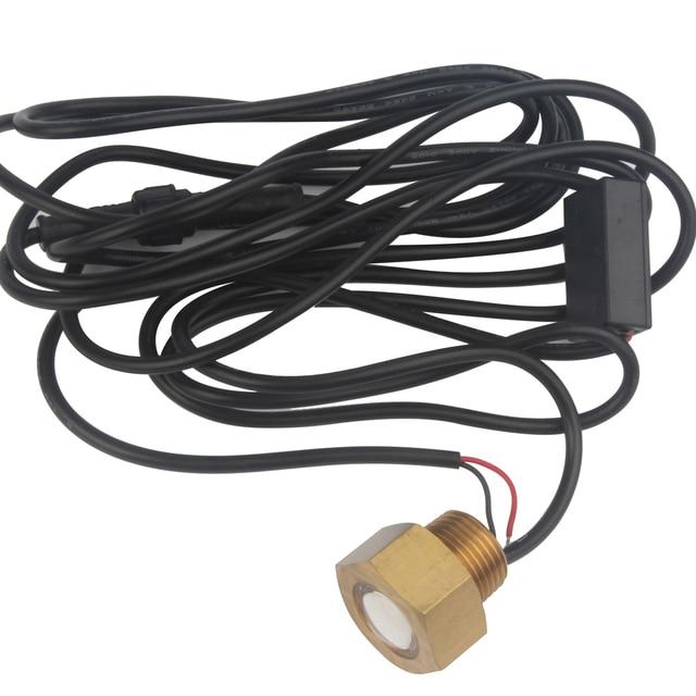 Waterproof Brass Underwater Light Blue White 6W LED Light Tube Plug Lamp 12V DC