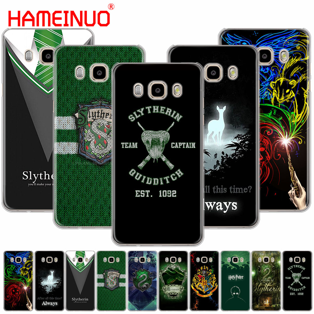 HAMEINUO Harry Potter Slytherin School Crest cover phone case for Samsung Galaxy J1 J2 J3 J5 J7 MINI ACE 2016 2015 prime