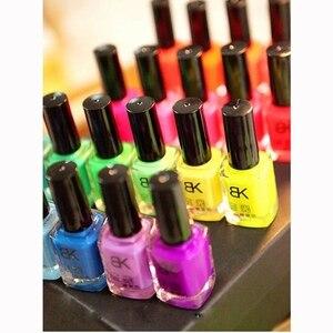 Image 5 - 20 colors series of Fluorescent Neon Luminous Gel Nail Polish for Glow in Dark 2019 Fashion Nail Polish Non toxic Nail Gel Art