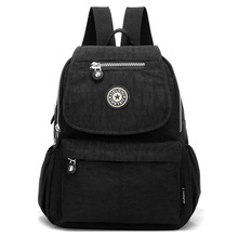 2020 Fashion Waterproof Nylon Female Backpack Women Preppy Style School Bags For Girls Big Capacity Travel Backpack Sac A Dos menghuo women waterproof nylon backpack female rucksack school backpack for girls fashion travel bag bolsas mochilas sac a dos