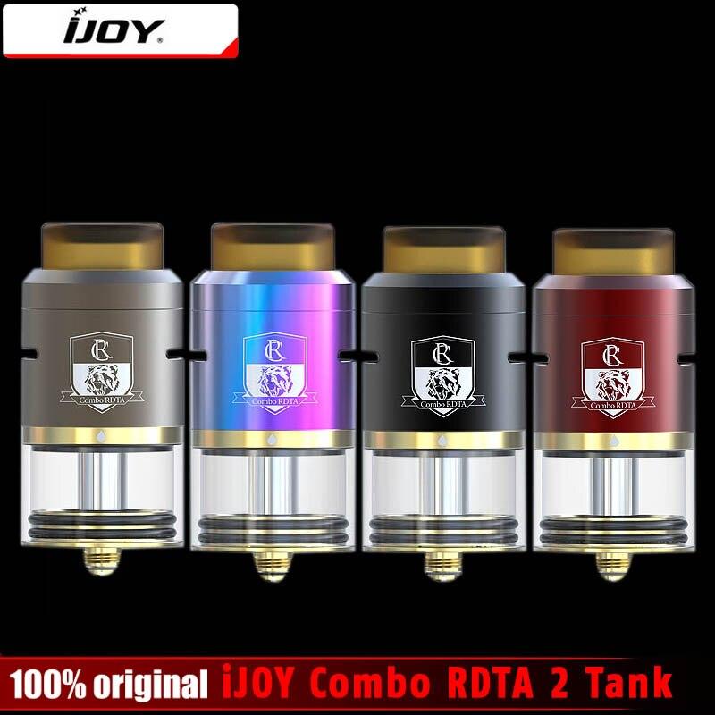 Original IJOY Combo RDTA 2 e zigarette Tank update ijoy Combo RDTA mit IMC system IMC-10 IMC-spule 3 Combo RDTA II DIY vape