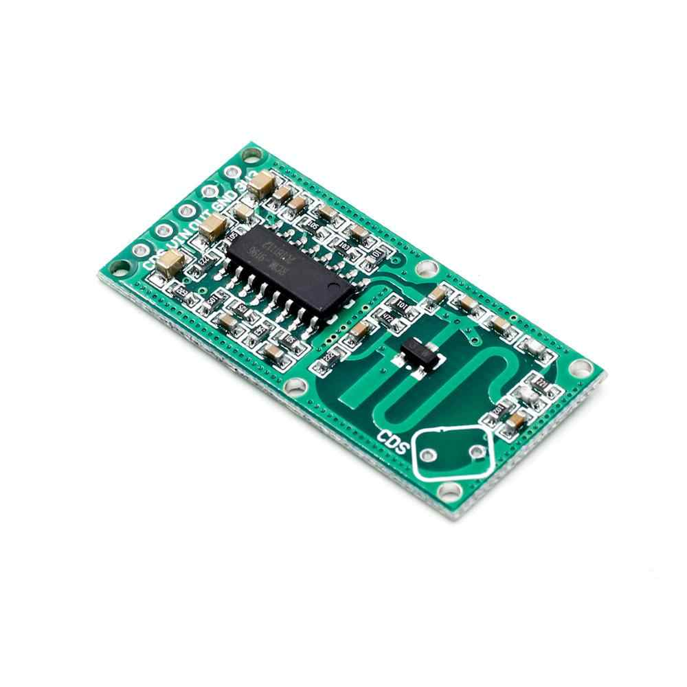 Módulo de sensor de radar de microondas RCWL-0516 Módulo de interruptor de inducción de cuerpo humano sensor inteligente